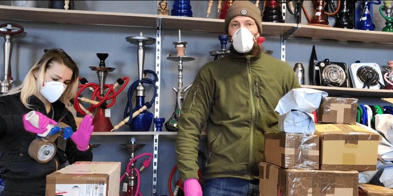 koronavírus slovensko bratislava smokeshop zamestnanci